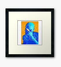 Blond + Saturation Framed Print