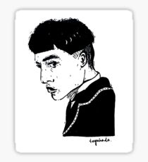 half of credence Sticker