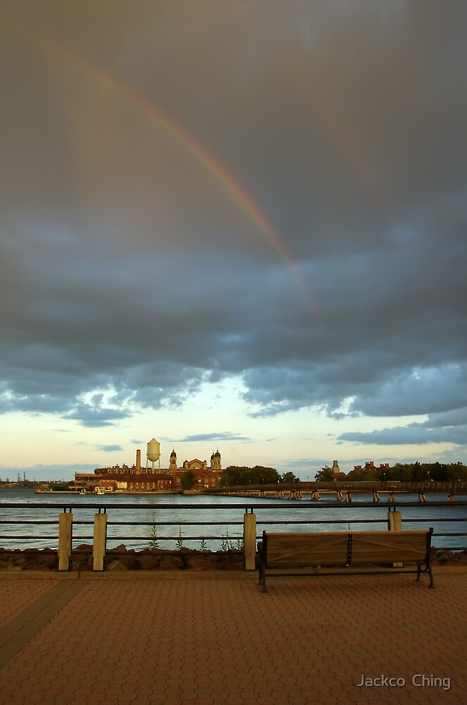 Rainbow After The Storm by jackco ching