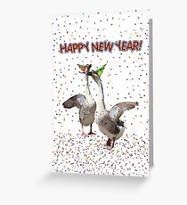 HAPPY NEW YEAR! from the Celebrating Geese Greeting Card