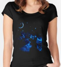 Prongs night Women's Fitted Scoop T-Shirt