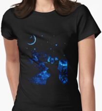 Prongs night Women's Fitted T-Shirt