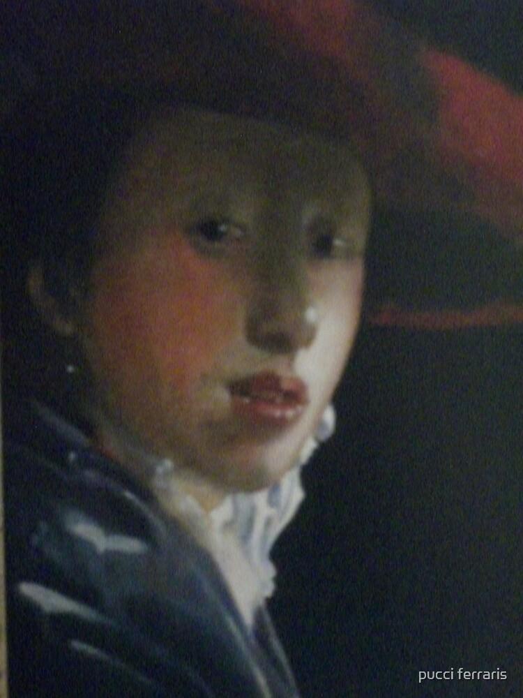 la ragazza con il cappello rosso by pucci ferraris