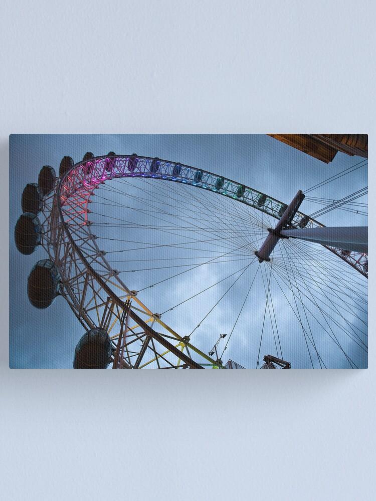 Alternate view of Millennium Wheel Canvas Print