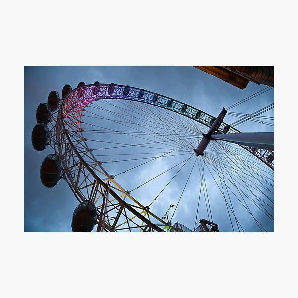 Millennium Wheel Photographic Print