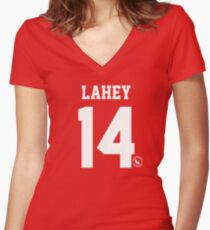 Isaac Lahey Women's Fitted V-Neck T-Shirt