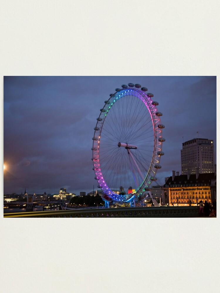 Alternate view of London Eye Photographic Print