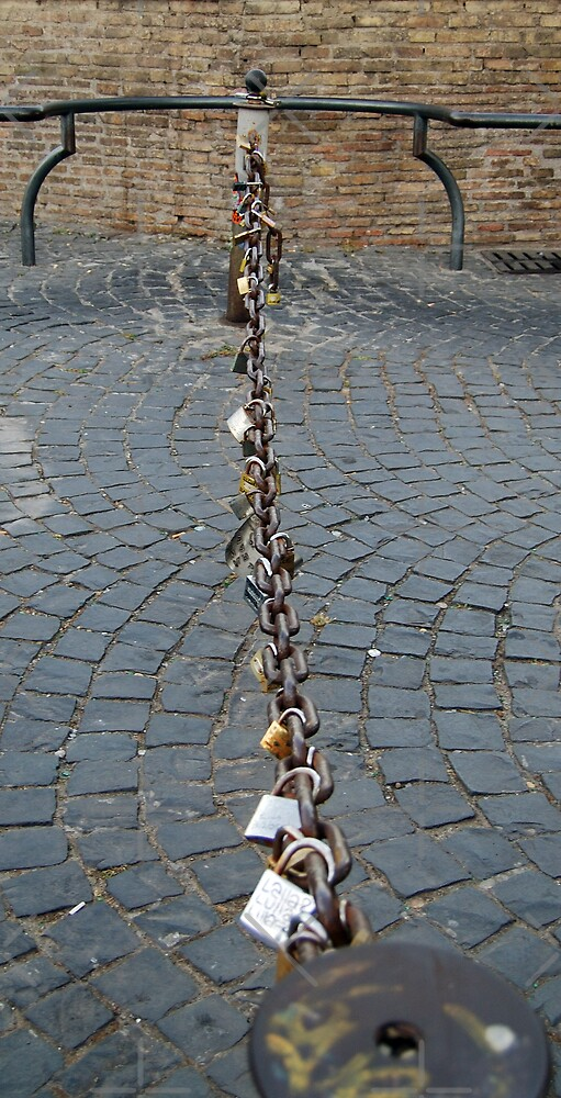 Locked chain by monica palermo