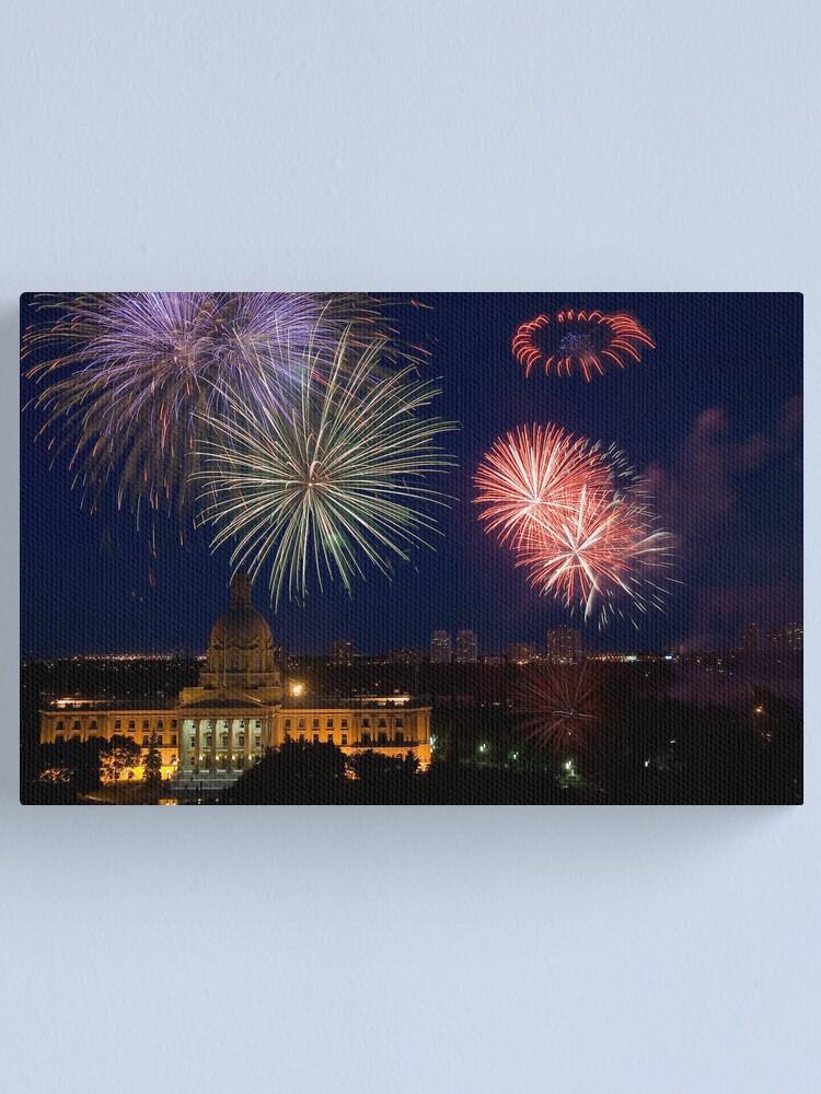 Alternate view of Celebration Canvas Print