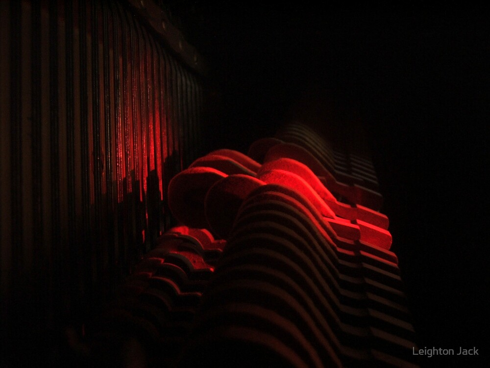 Scarlet Hammers by Leighton Jack