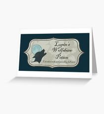 Lupin's Wolfsbane Potion Greeting Card