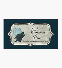 Lupin's Wolfsbane Potion Photographic Print