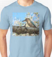 Kingfisher blue-winged Kookaburra on a tree branch at Katherine Gorge, Australia T-Shirt