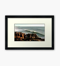 Layer upon layer upon layer Framed Print