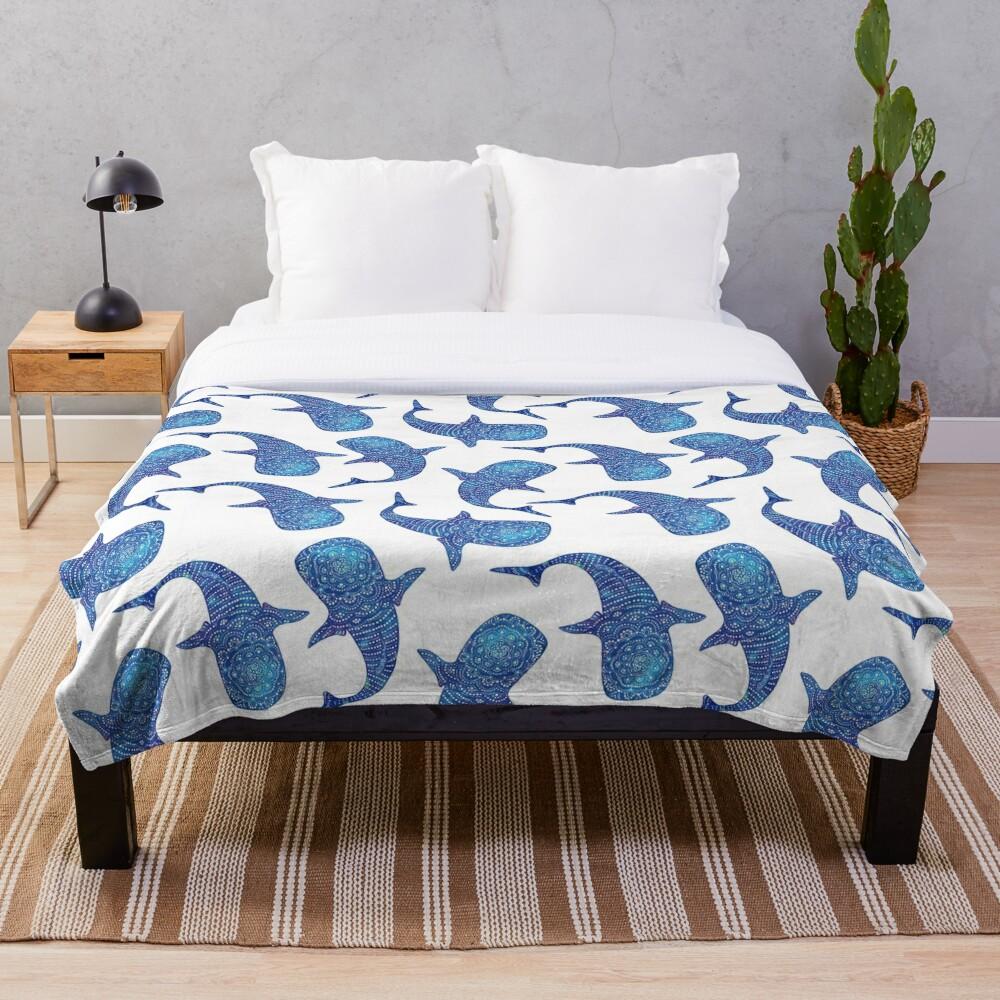 Marokintana - Whale Shark I Throw Blanket