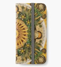 """Floral Aztec calendar"" iPhone Wallet/Case/Skin"