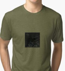 Bullet Geography Tri-blend T-Shirt
