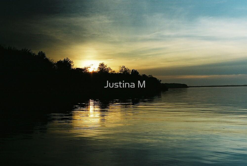 Monochromatic Sunset by Justina M