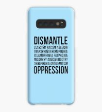 Dismantle Oppression • riotcakes Original Design • Social Justice • Political Case/Skin for Samsung Galaxy