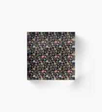 Lovely Pattern ৩ Acrylic Block