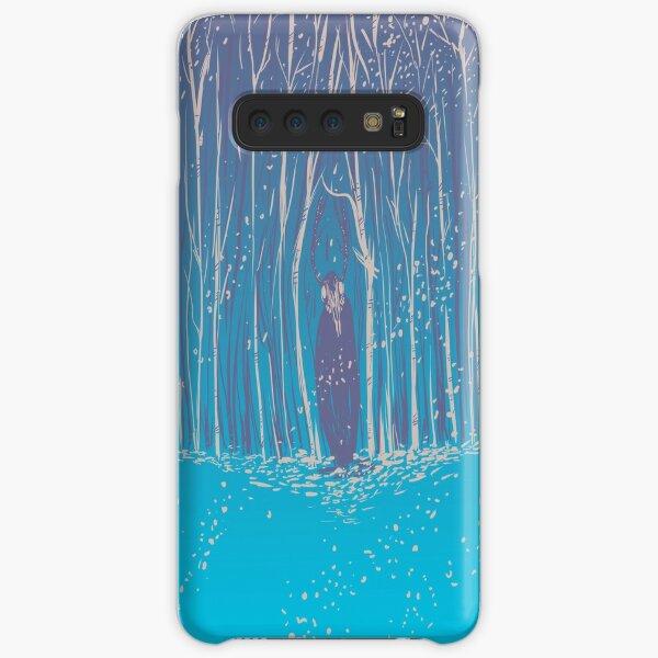 wendigo in the wood.  Samsung Galaxy Snap Case
