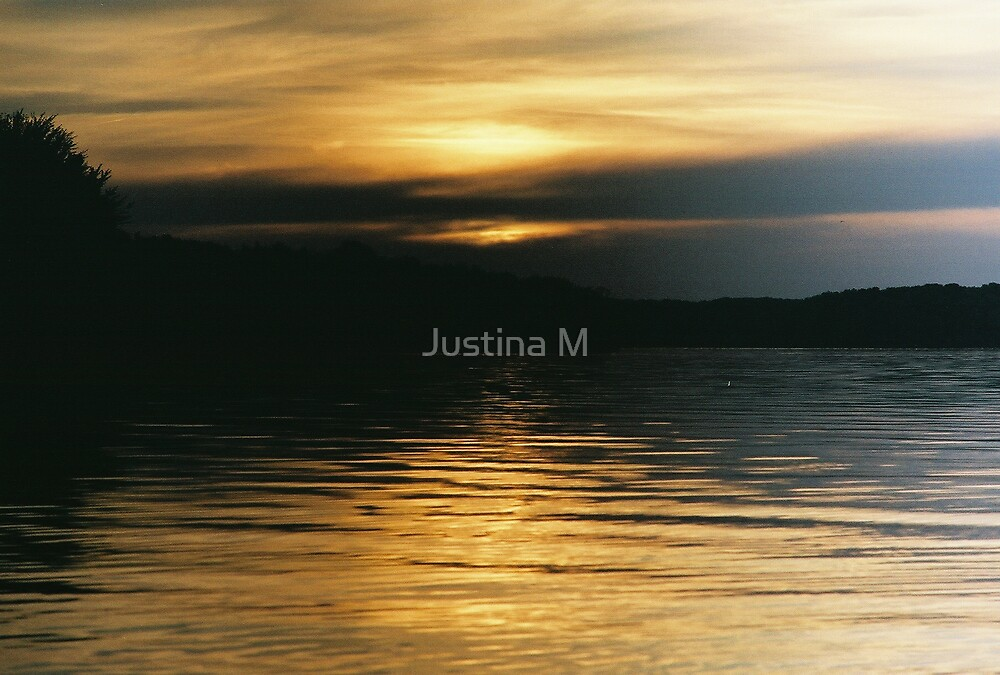 Golden Sunset by Justina M