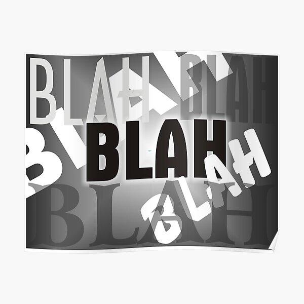 Blah Blah 1 Poster