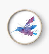 A hummingbird Clock