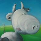 Mad cow by Glenn McLeary