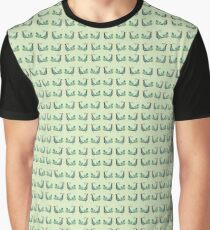 peacock pattern Graphic T-Shirt