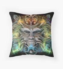 Mask 021 Throw Pillow