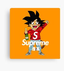 little goku Canvas Print