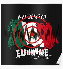 Earthquake Drawing Posters Redbubble