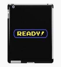 Ready! iPad Case/Skin