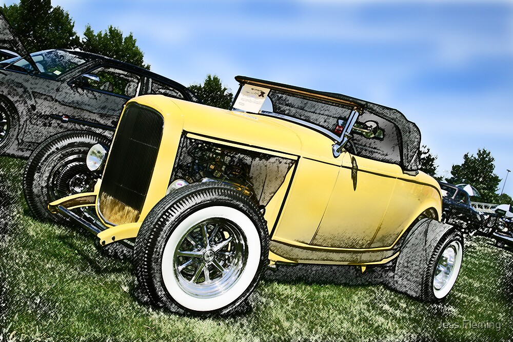The Car Show... by Jess Fleming