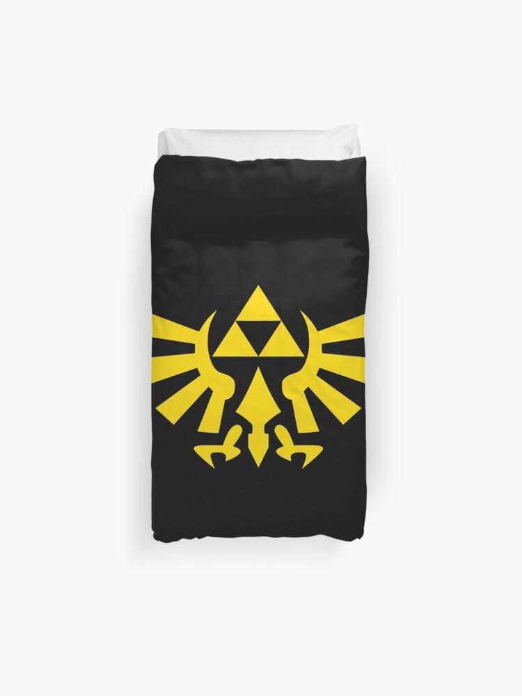 The Legend Of Zelda Triforce Housse De Couette
