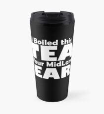 Bad Manners Mugs - Black Travel Mug