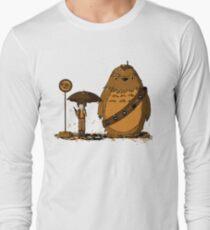 Camiseta de manga larga Mi vecino Chewie II