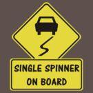 Single Spinner On Board by ODN Apparel