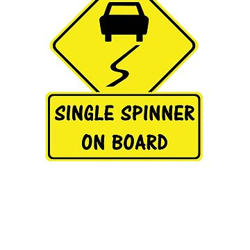 Single Spinner On Board by antdragonist
