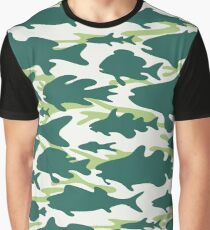 Camouflage Fish - Forest Graphic T-Shirt