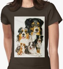 Australian Shepherd Women's Fitted T-Shirt