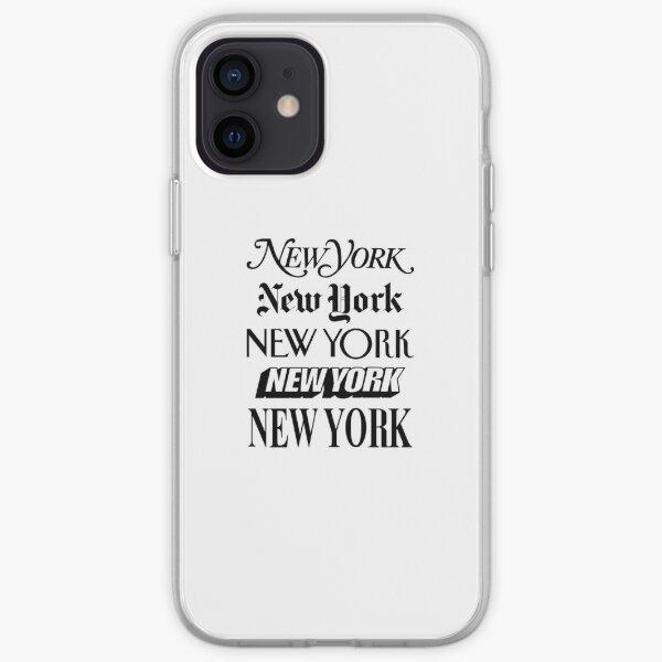New York New York iPhone Soft Case