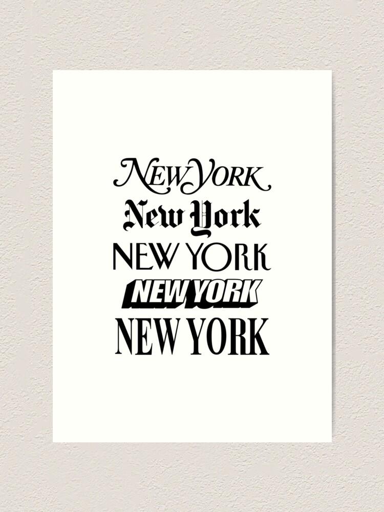Alternate view of New York New York Art Print