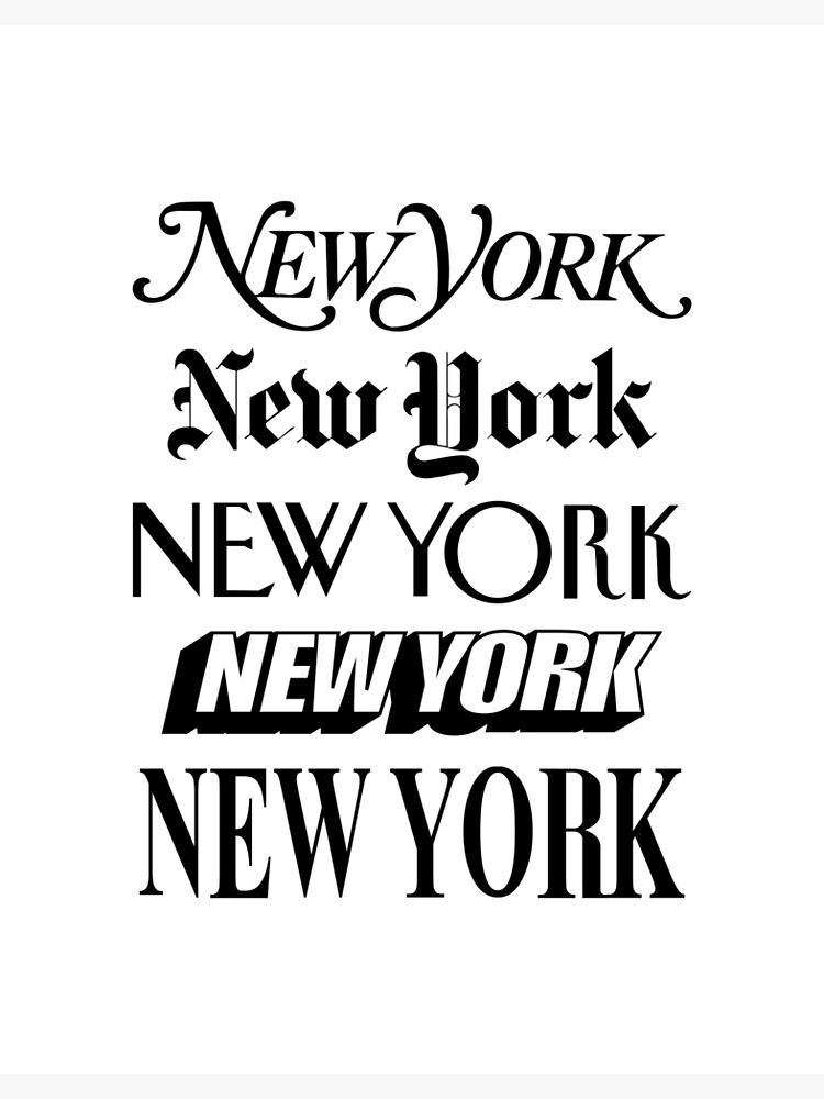 New York New York by MotivatedType