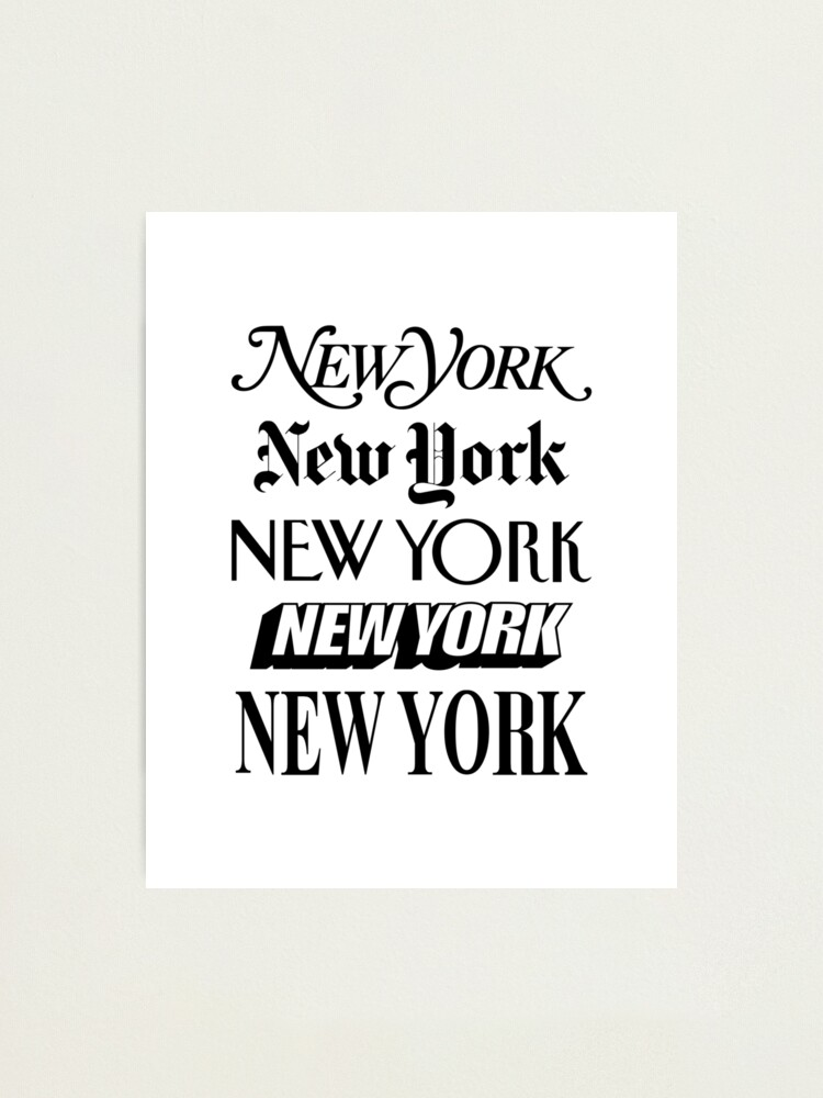 Alternate view of New York New York Photographic Print