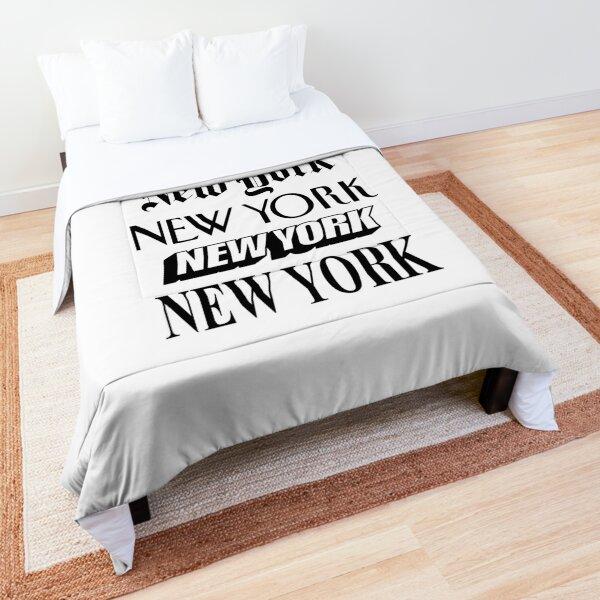 New York New York Comforter