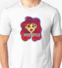 Red Hair Don't Care Unisex T-Shirt