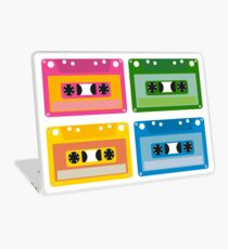 audio cassette Laptop Skin