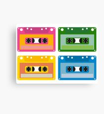 audio cassette Canvas Print